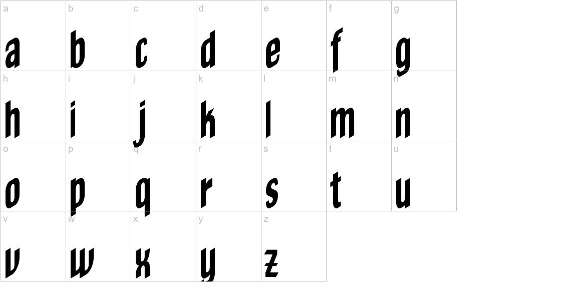 OldeChicago lowercase