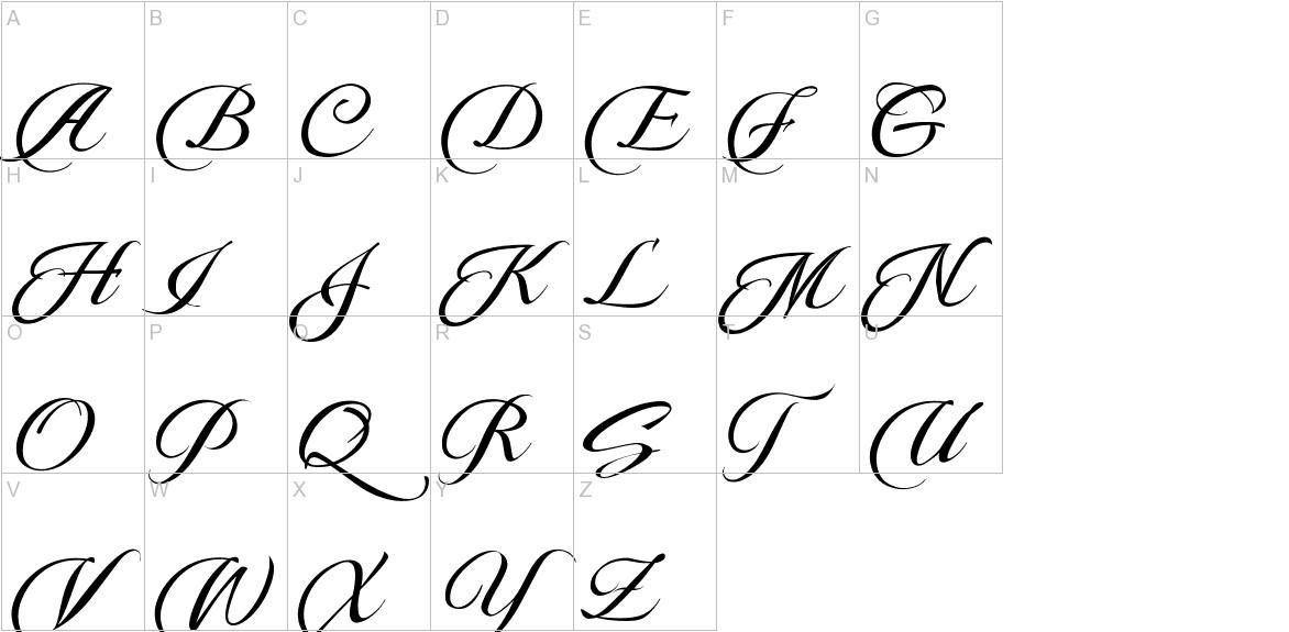 Pateglamt Script demo version uppercase