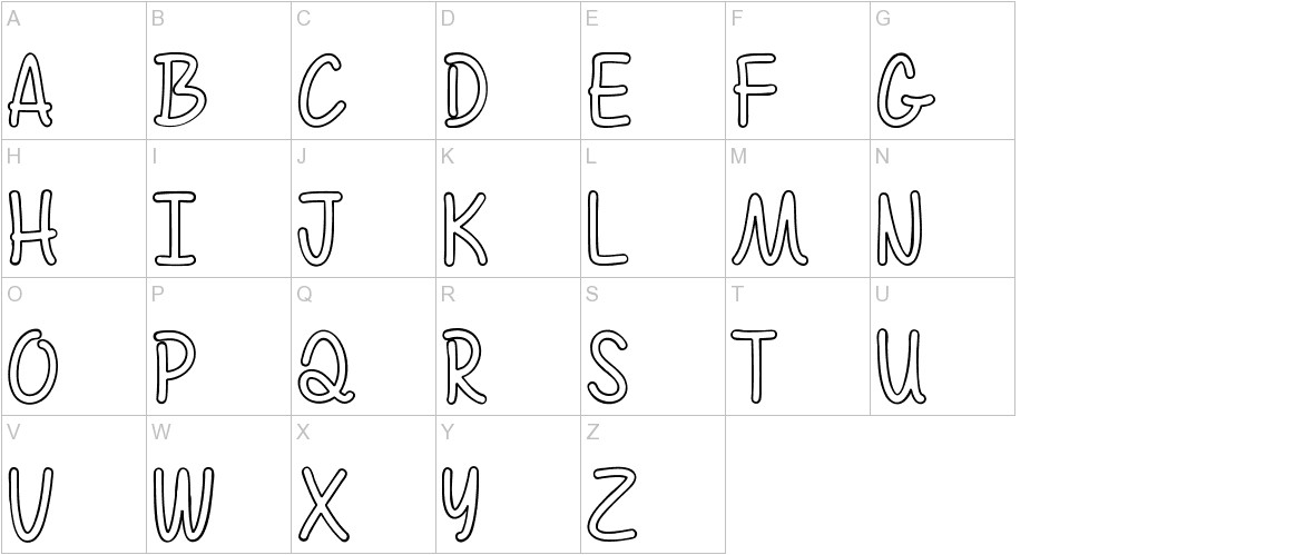 Color Time uppercase