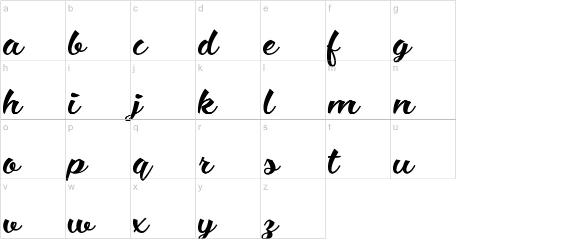 Ciao Baby Regular lowercase