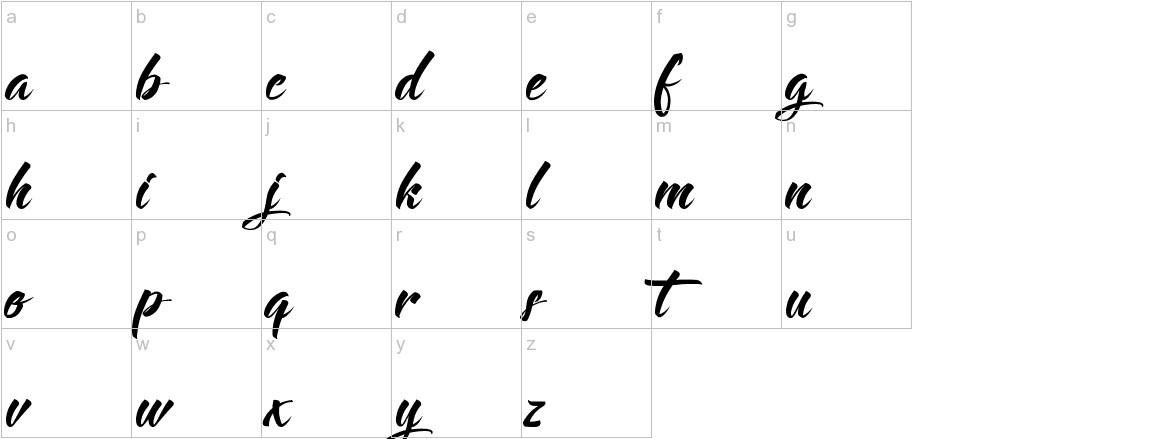 Langoustine lowercase