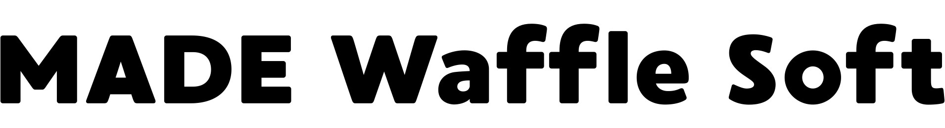 MADE Waffle Soft