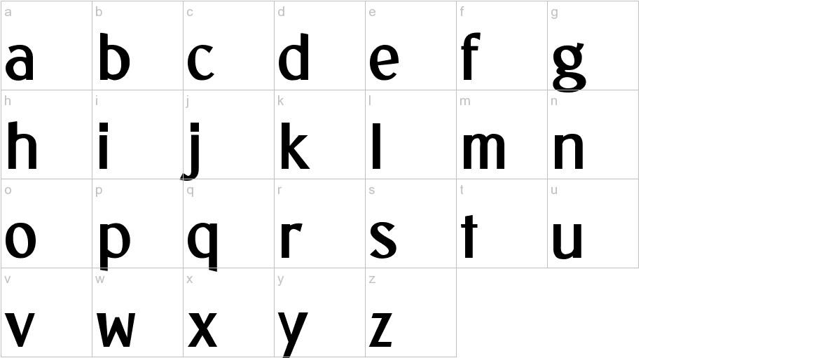Sunda Prada lowercase