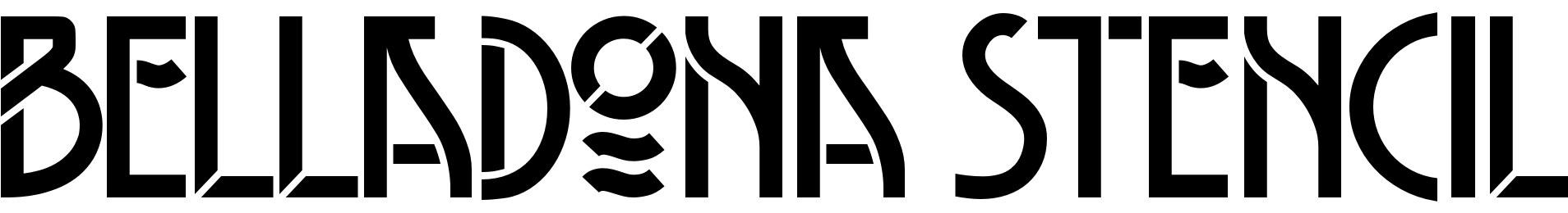 Belladona Stencil