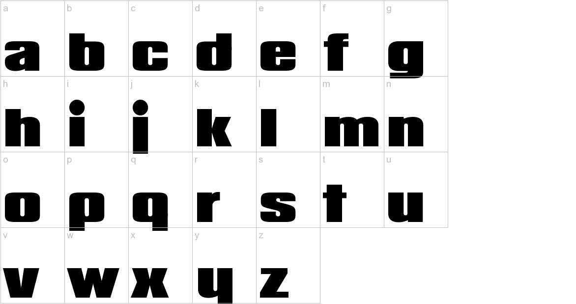 Padaloma lowercase