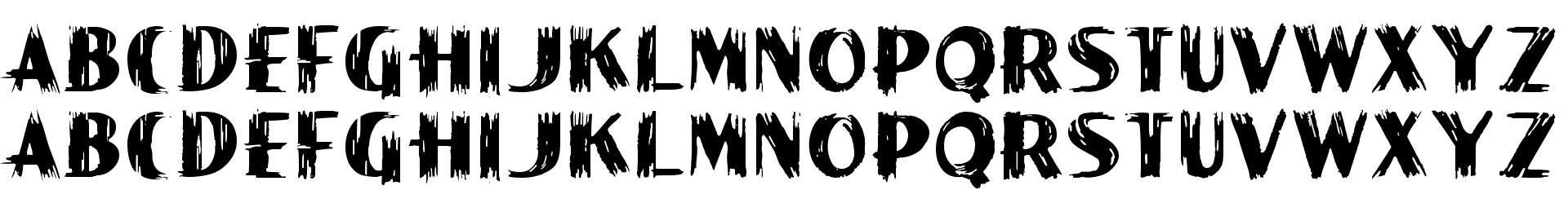 Paint Peel Initials