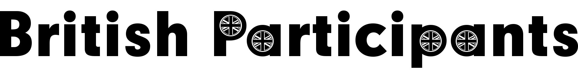 British Participants