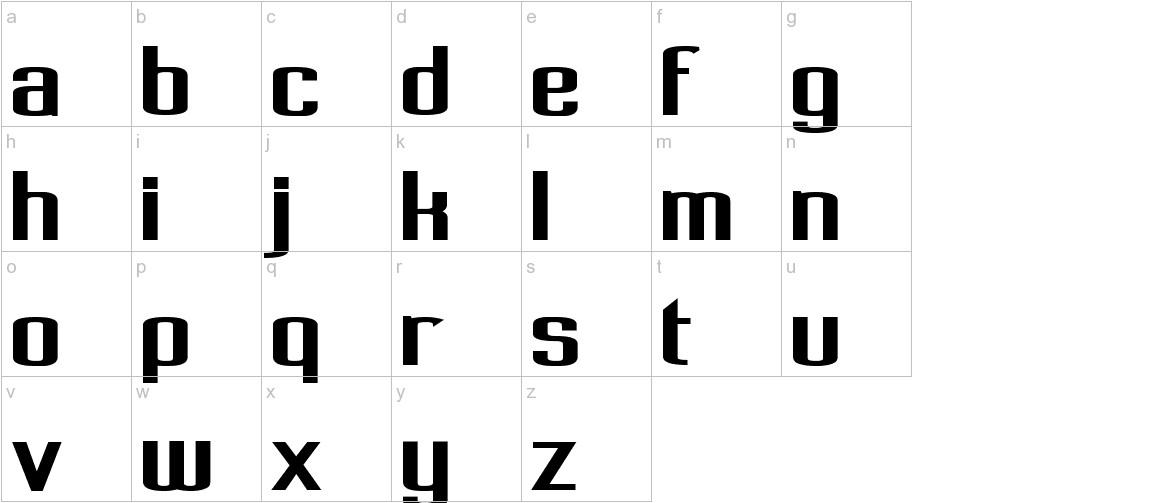 Pecot lowercase