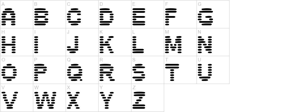pixelino uppercase