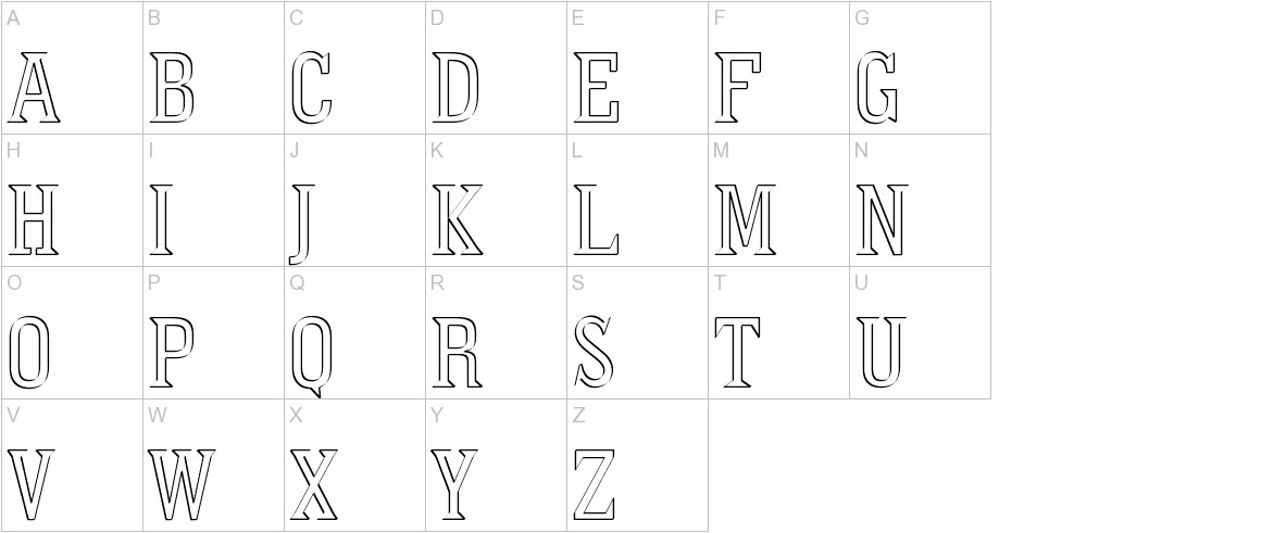 PointedOut uppercase