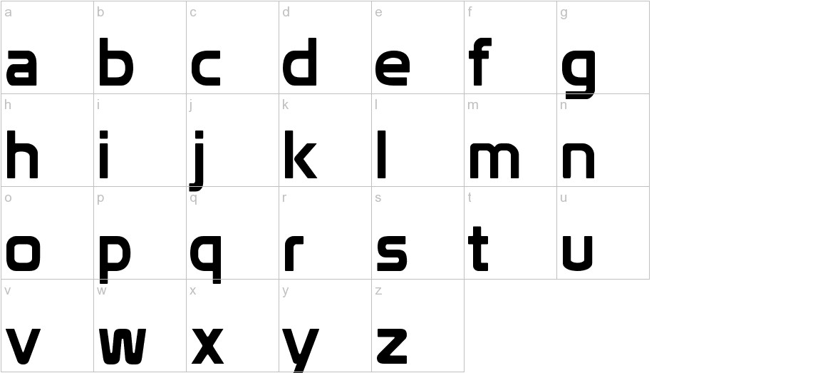Prototype lowercase