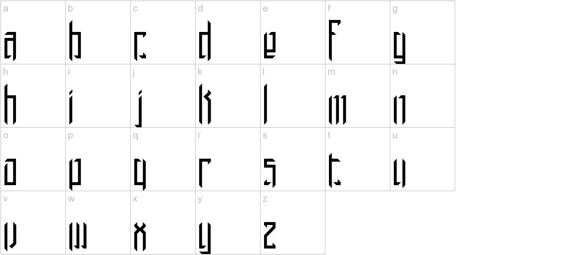 Brigadoom BRK lowercase