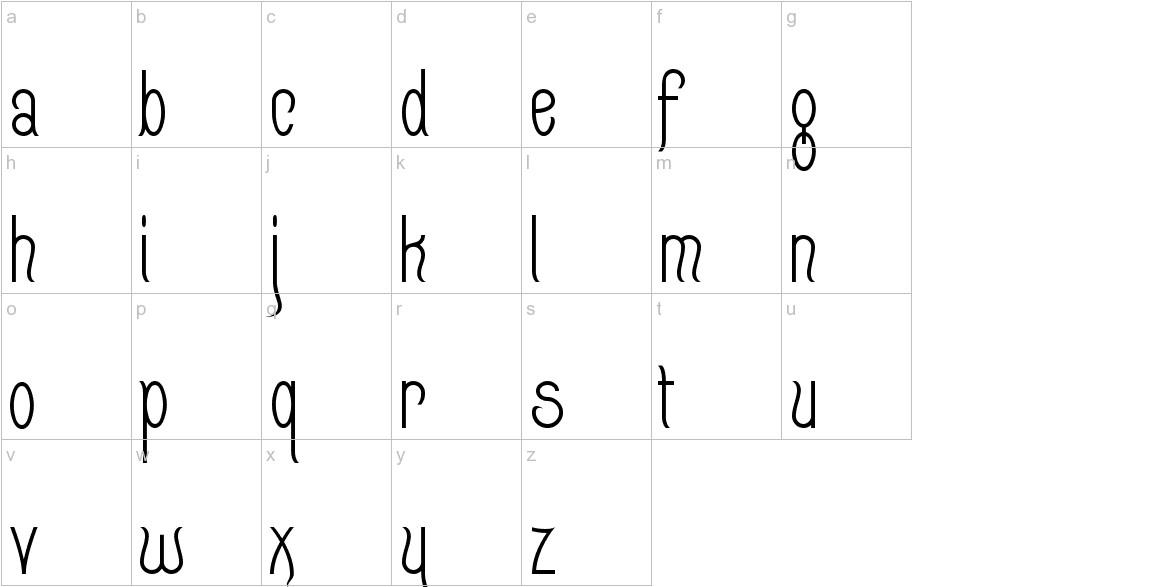 Quixotte lowercase