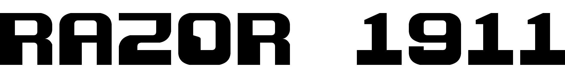 Razor 1911