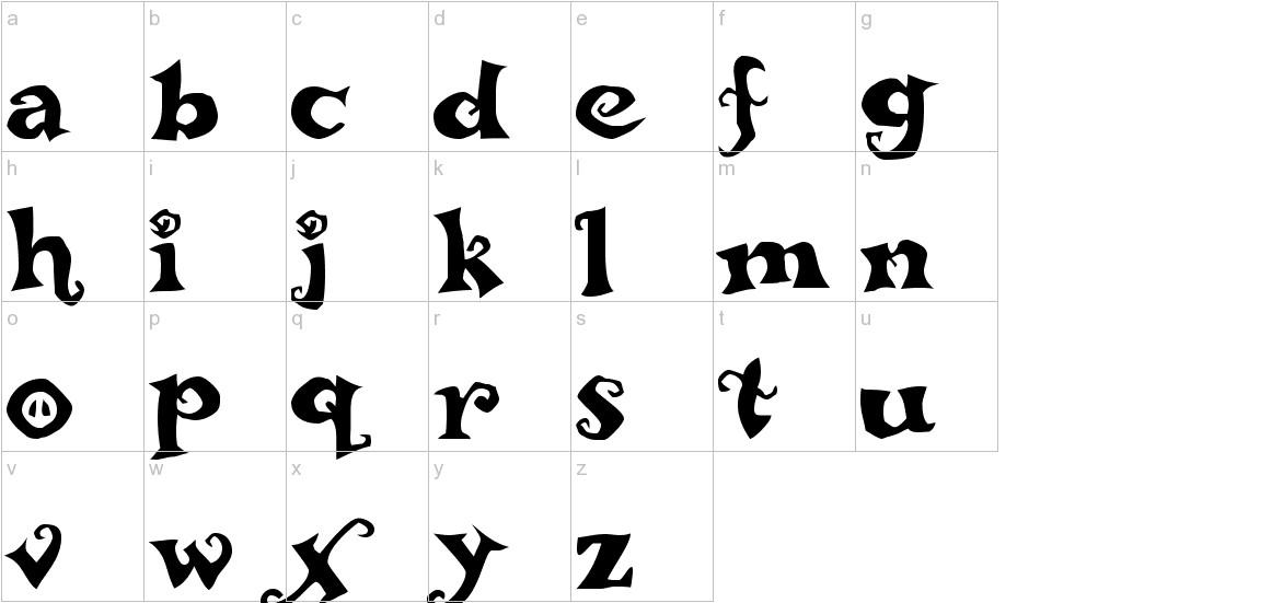 ReBucked lowercase