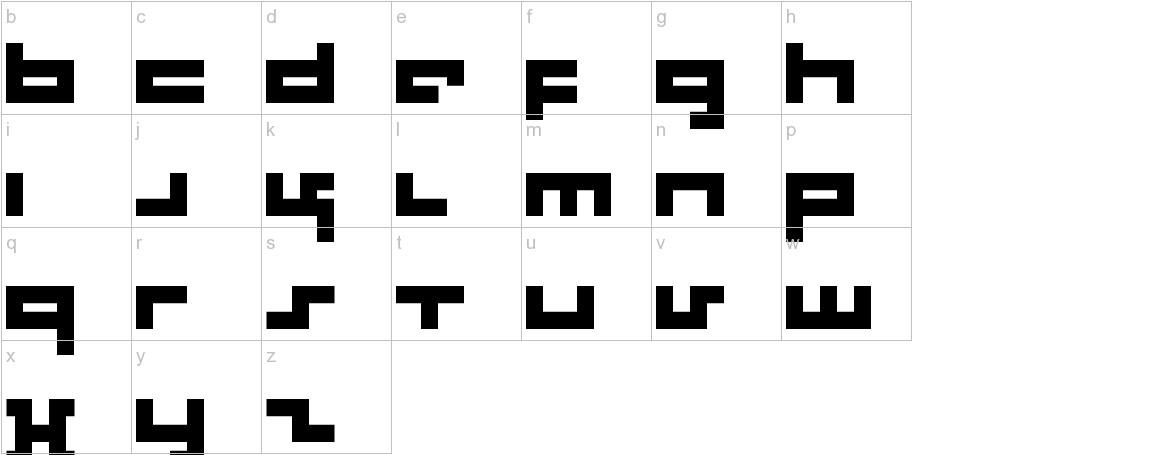 Rotek lowercase