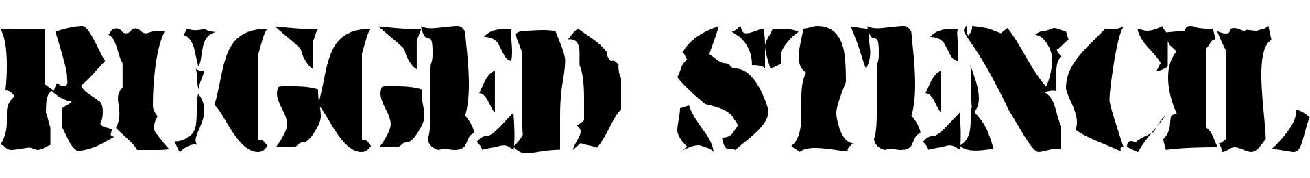 Rugged Stencil