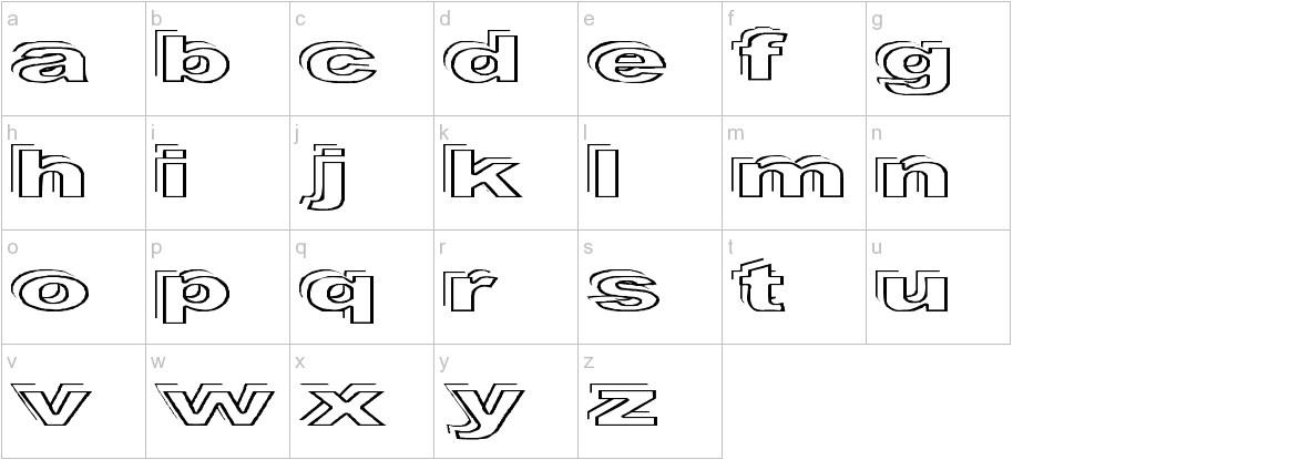 Ryckindor lowercase