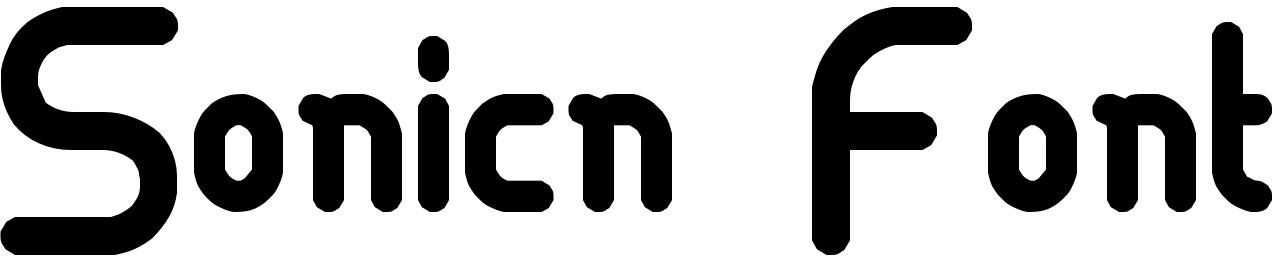Sonicn Font