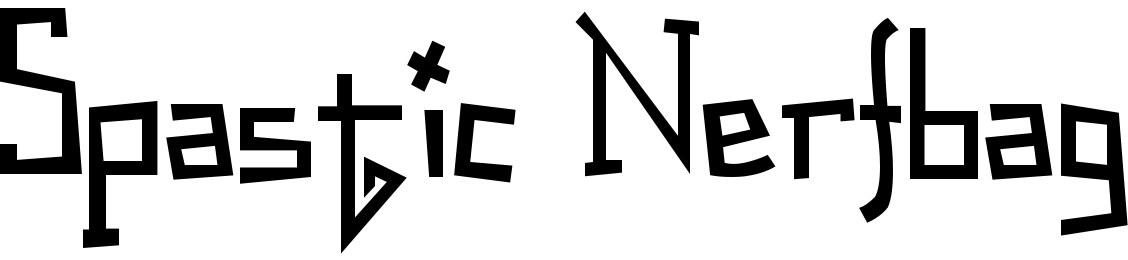 Spastic Nerfbag