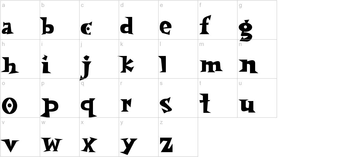 spookymagic lowercase