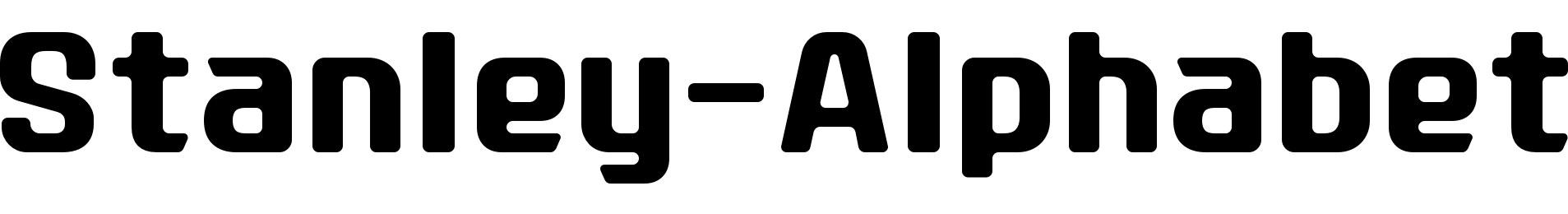 Stanley-Alphabet