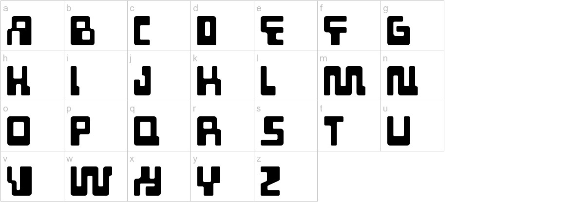 Tabletron lowercase