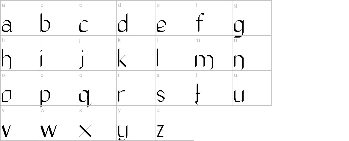 The Daily Blah lowercase