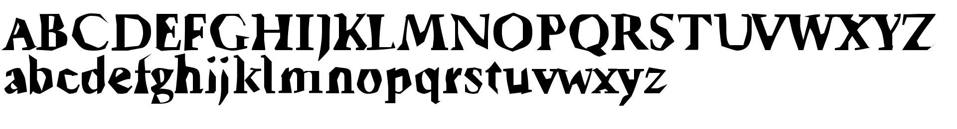 Ticky font