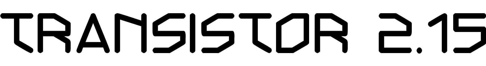 Transistor 2.15