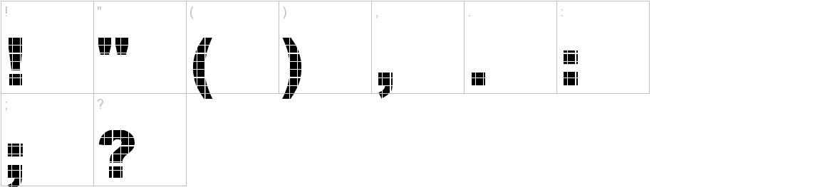 Vinyl Tile - DGL characters