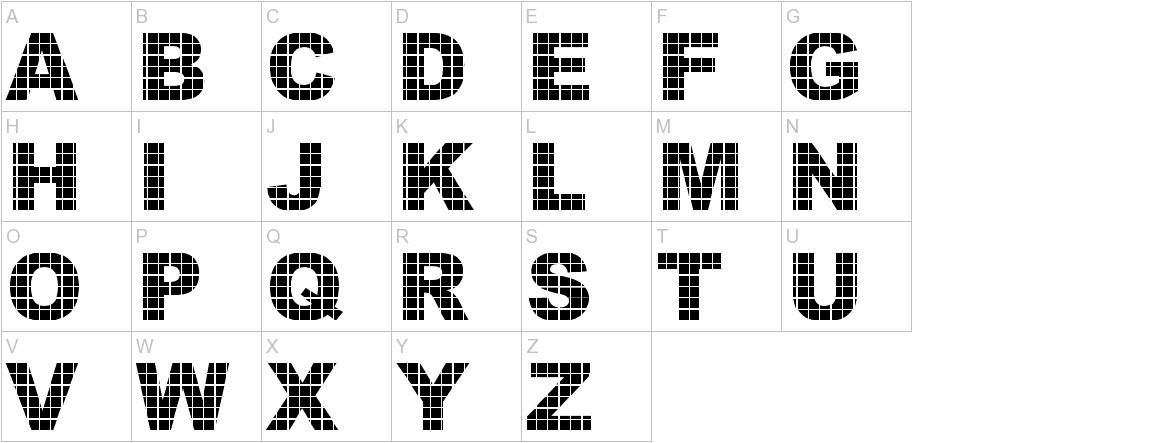 Vinyl Tile - DGL uppercase