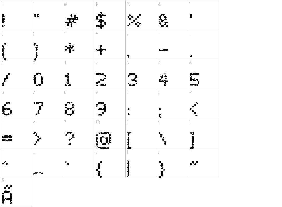 Virus43 characters