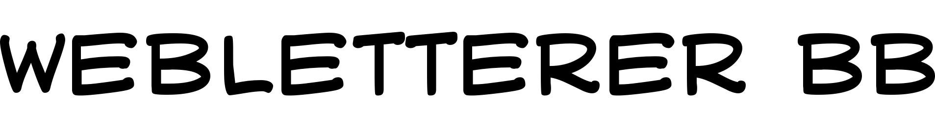 WebLetterer BB