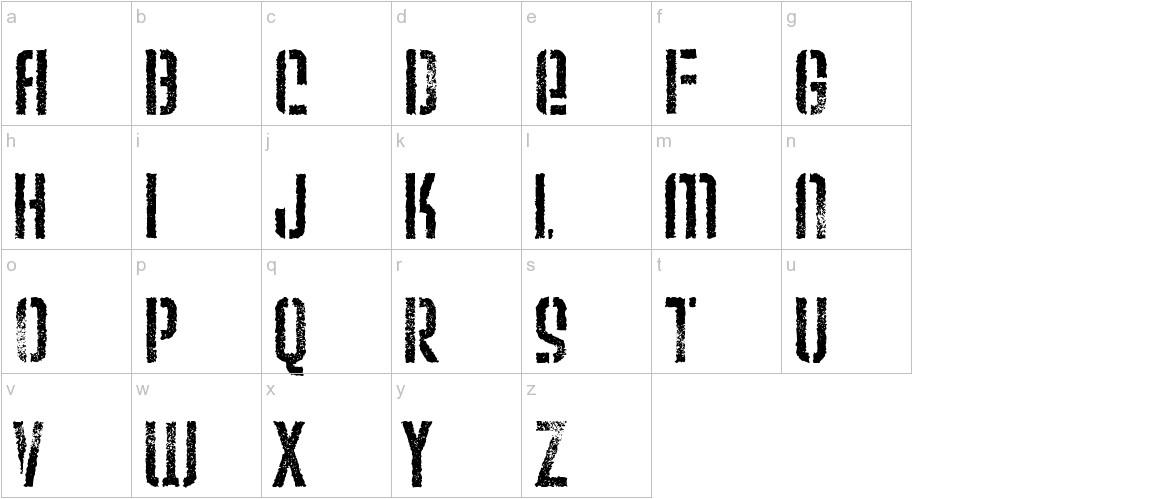 Weltron Urban lowercase