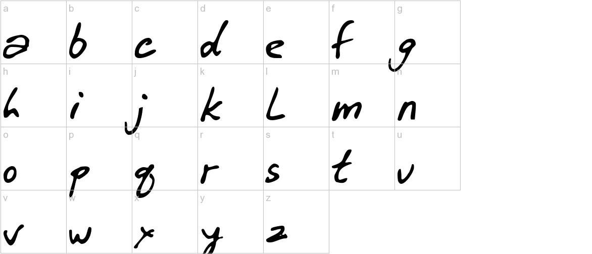Winkie lowercase