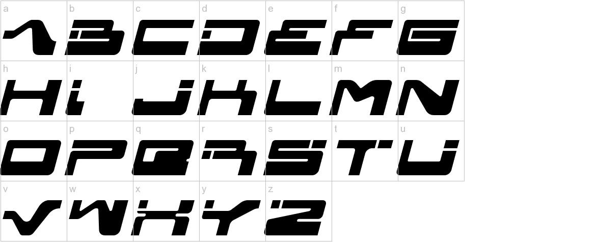 yagiza lowercase