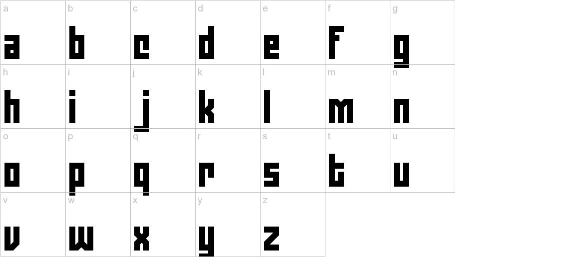 Zephyrean BRK lowercase