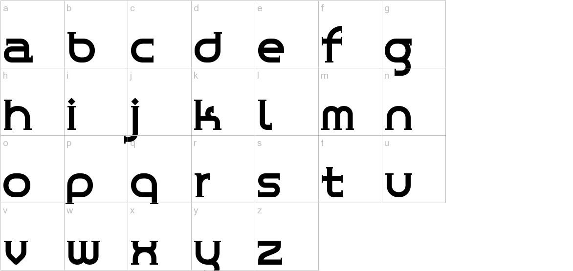 ChromeYellow lowercase