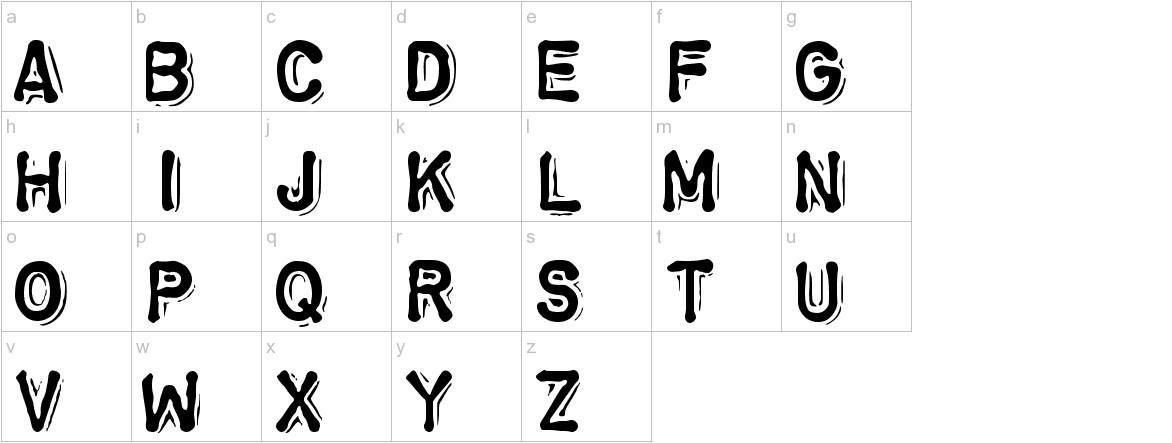 ChromosomeHeavy lowercase