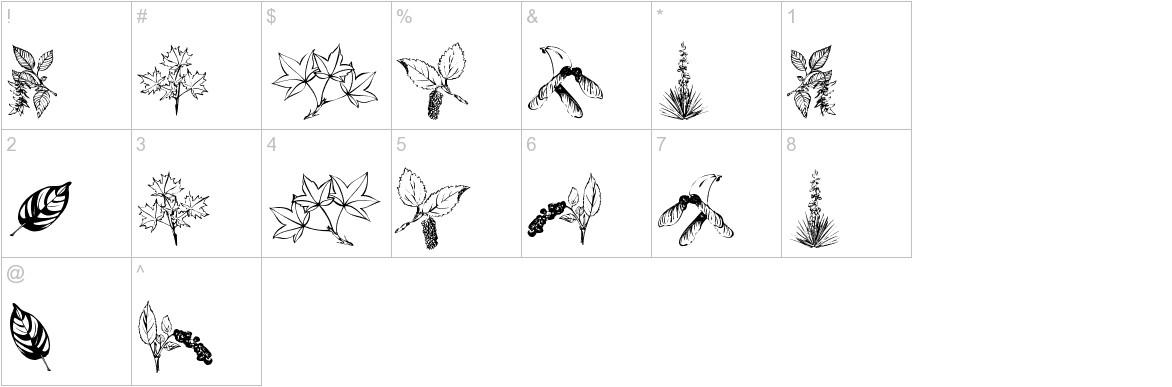 ArborisFolium characters