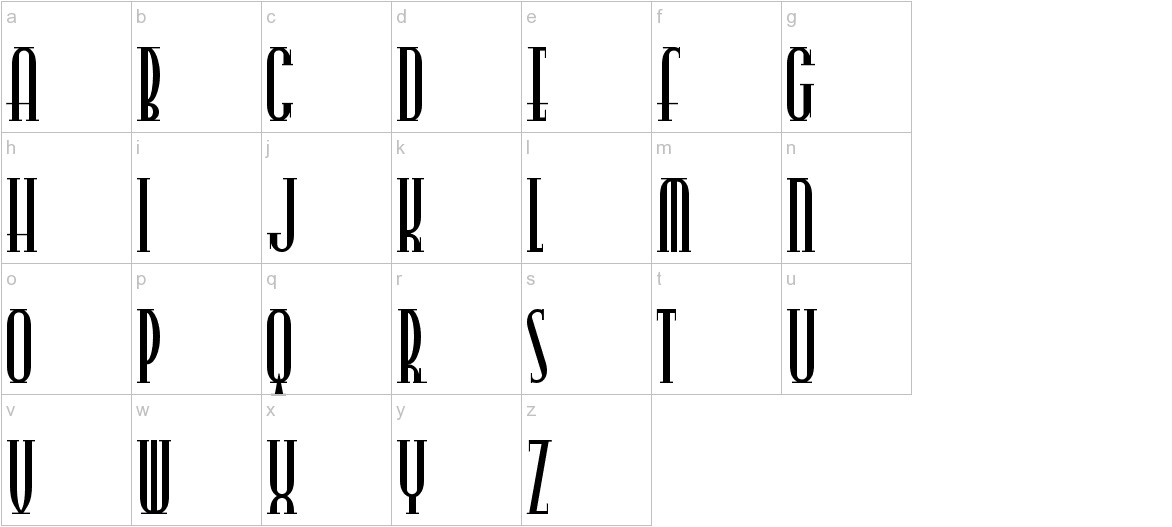 CitySlicker lowercase