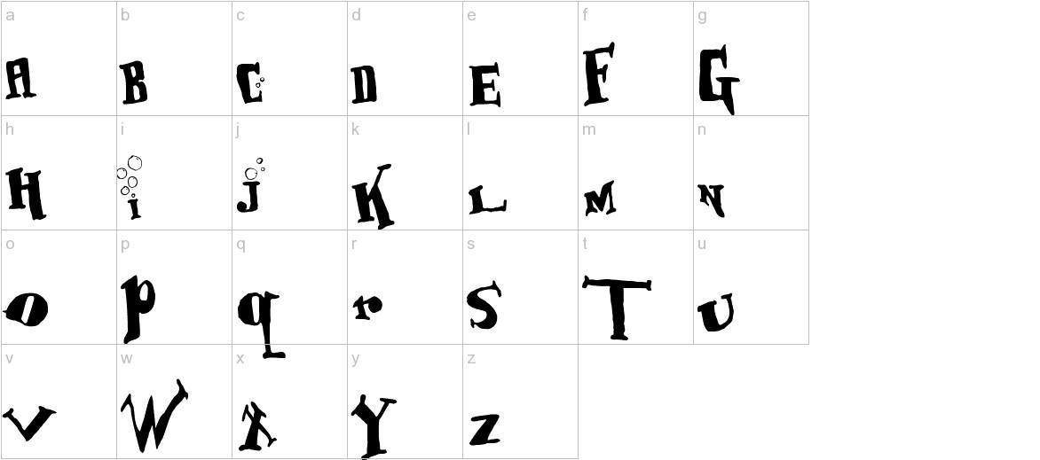 BabOonjaZzbaSsoOn lowercase