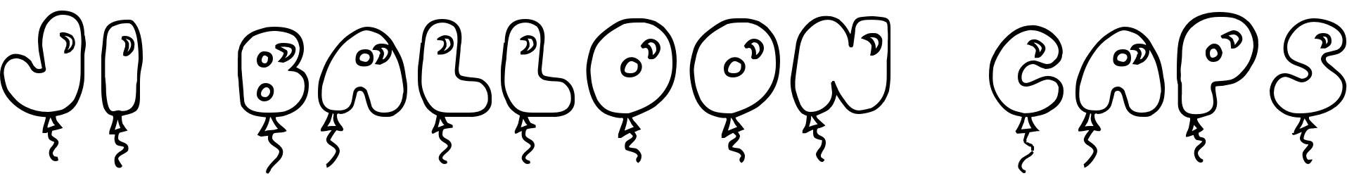 JI Balloon Caps