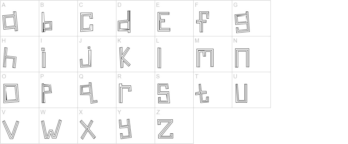 Linear uppercase