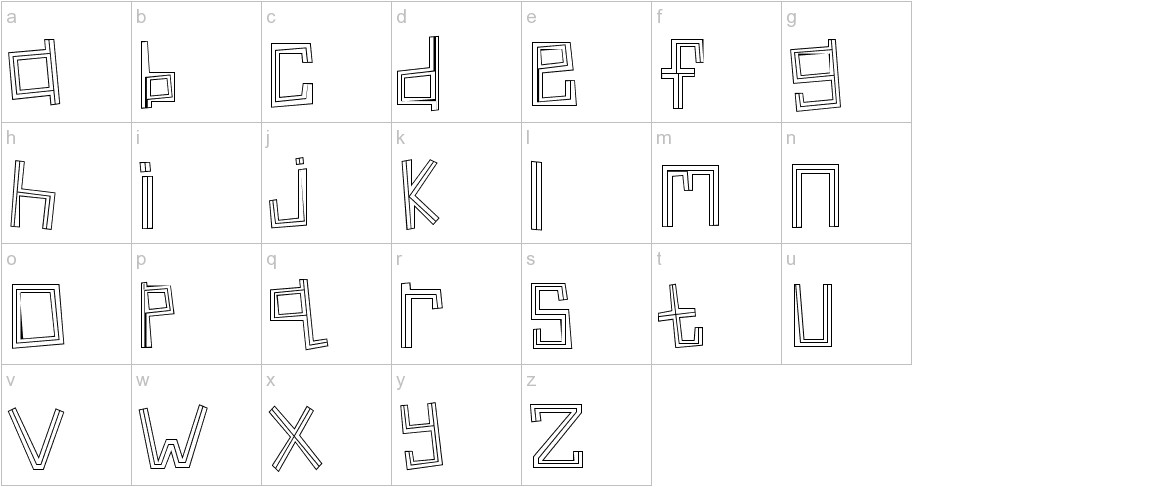 Linear lowercase