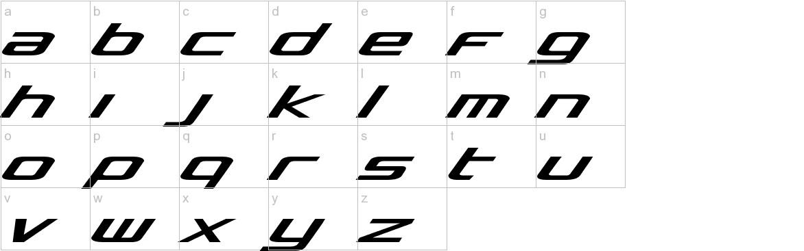 Concielian lowercase