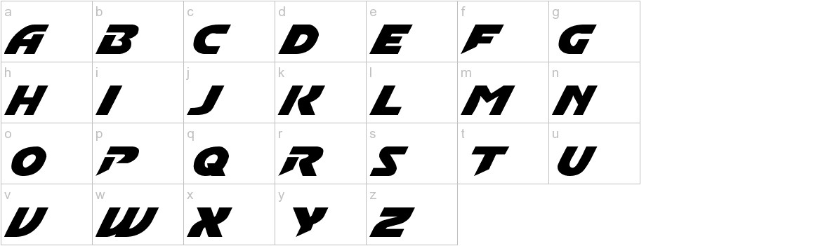 Convoy Normal lowercase