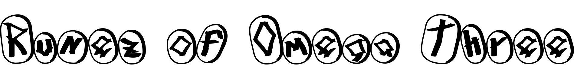 Runez of Omega Three