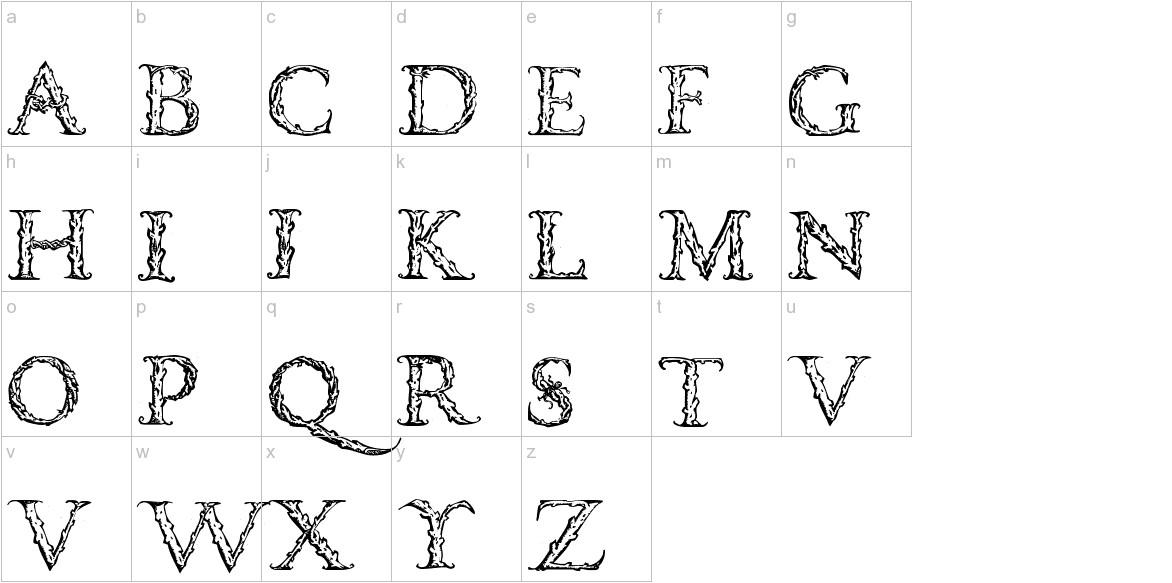 VespasianCaps lowercase